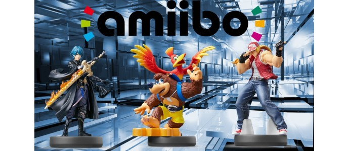 New Amiibo Figures coming this March